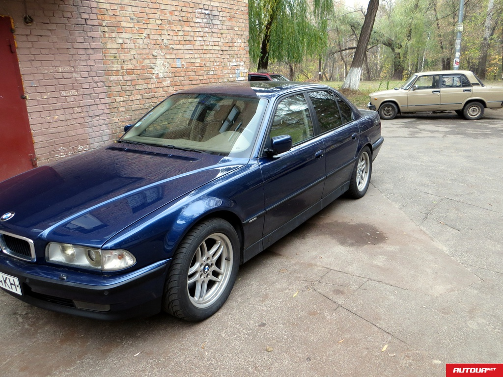 BMW 740i e38 m62b44 AT Msport Shadowline Recaro  1998 года за 350 917 грн в Киеве