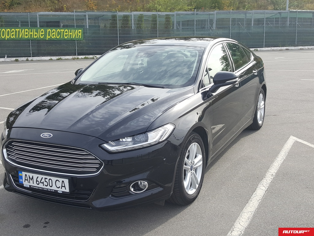 Ford Mondeo 2.0 TD AT LUX 2016 года за 755 745 грн в Харькове