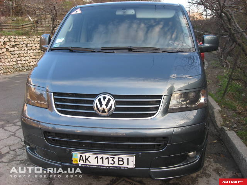 Volkswagen Mutlivan HIGHLINE 4MOTION 2006 года за 472 388 грн в Киеве