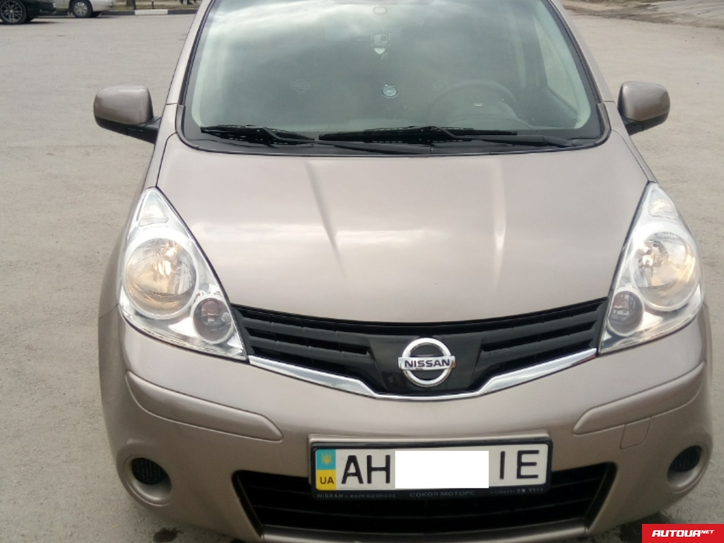 Nissan Note 1.4 МТ Comfort 2013 года за 250 000 грн в Донецке