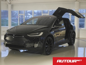 Tesla Model X P 90 D Ludicrouse