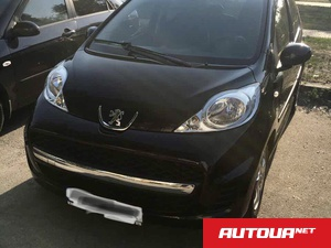 Peugeot 107 Black&Silver edition